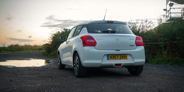 Suzuki Swift 2017 White