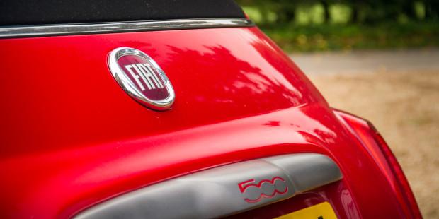 Fiat 500C 2017 Badge