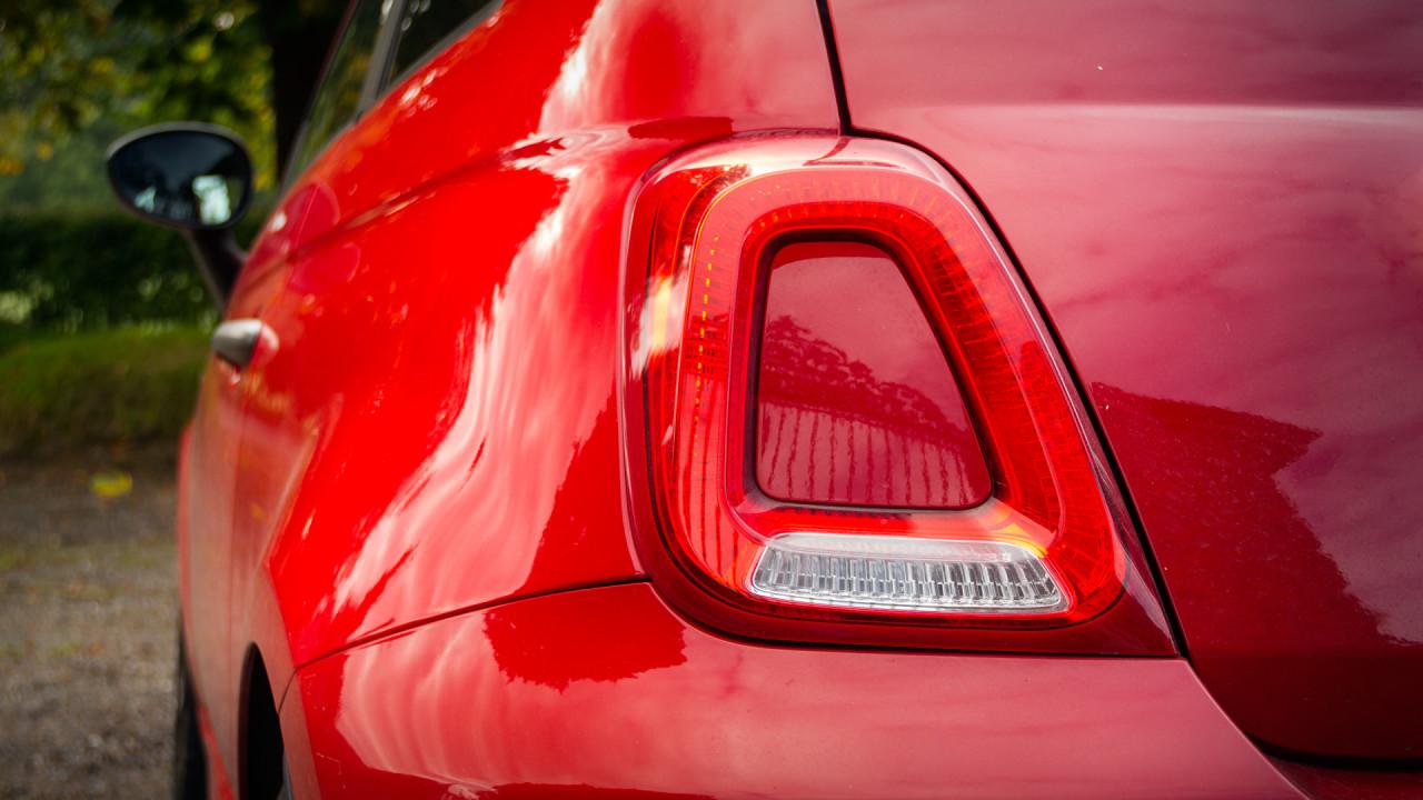 Fiat 500C 2017 Rear Light