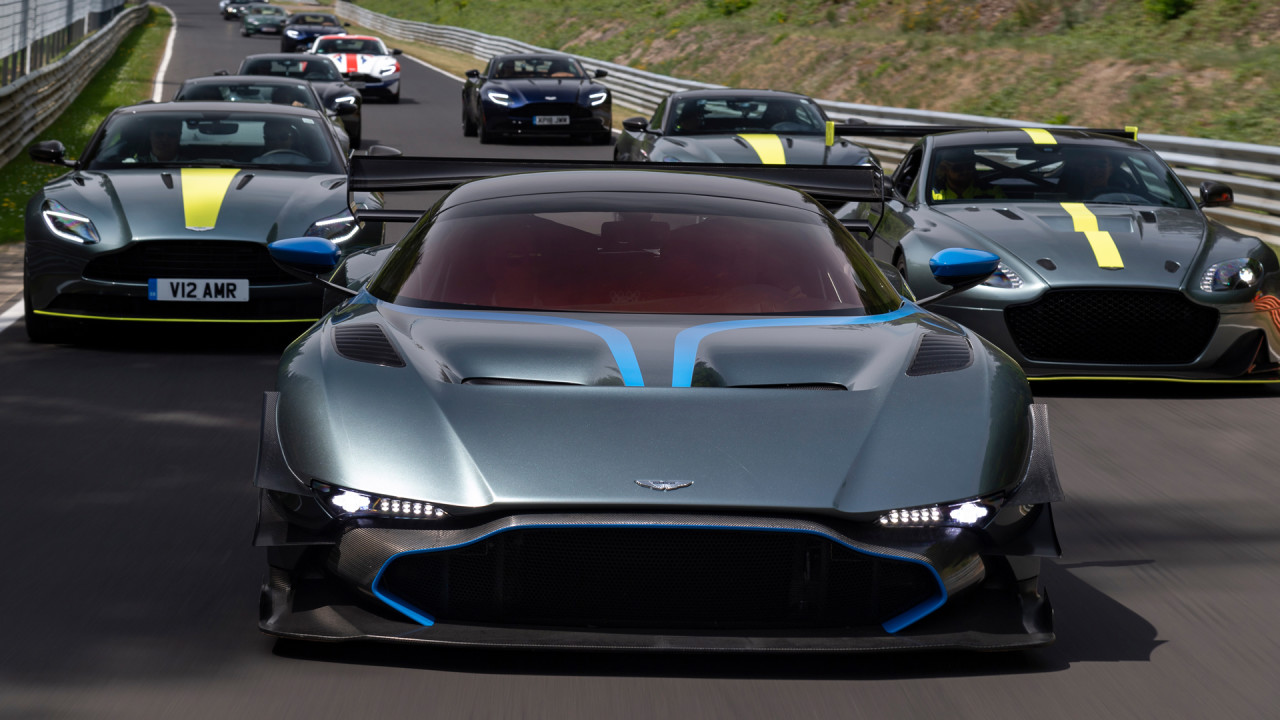 Newmotoring Aston Martin Is Racing 38 Cars At Le Mans For Fun